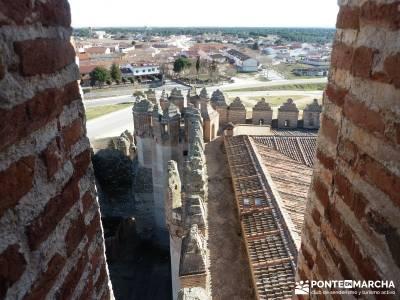 Castillos de Cuellar y Coca - Arte Mudéjar;material trekking viajes marzo puente de semana santa